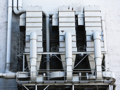 Factory Silo Pipes Ventilation Industry